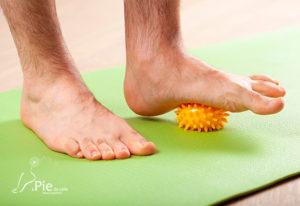 Estiramiento para los pies